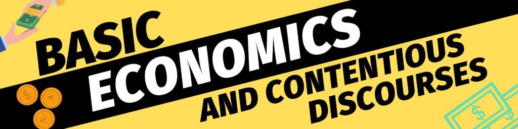Basic Economics banner by Vikram Rudhraksh